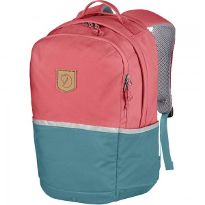 FJALLRAVEN High Coast - Sac à dos Enfant - rose/turquoise Rose [ Promotion Black Friday Soldes ]
