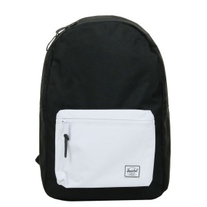 Herschel Sac à dos Settlement black/white [ Promotion Black Friday Soldes ]