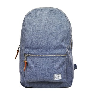 Herschel Sac à dos Settlement dark chambray crosshatch [ Promotion Black Friday Soldes ]