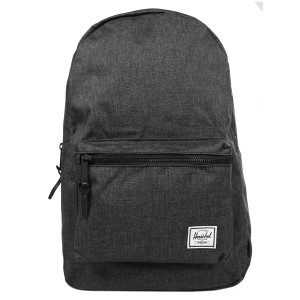 Herschel Sac à dos Settlement black crosshatch/black rubber [ Promotion Black Friday Soldes ]