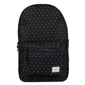 Herschel Sac à dos Settlement black gridlock gold [ Promotion Black Friday Soldes ]