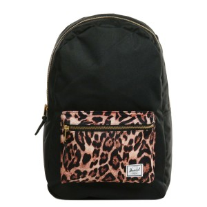 Herschel Sac à dos Settlement black/desert cheetah [ Promotion Black Friday Soldes ]