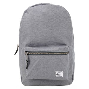 Herschel Sac à dos Settlement mid grey crosshatch [ Promotion Black Friday Soldes ]
