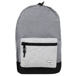 Herschel Sac à dos Settlement mid grey crosshatch/black/light grey crosshatch [ Promotion Black Friday Soldes ]