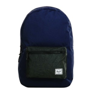 Herschel Sac à dos Settlement peacoat/black crosshatch [ Promotion Black Friday Soldes ]