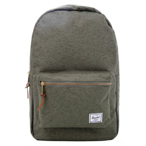 Herschel Sac à dos Settlement ivy green slub [ Promotion Black Friday Soldes ]