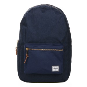 Herschel Sac à dos Settlement medievel blue crosshatch/medievel blue [ Promotion Black Friday Soldes ]