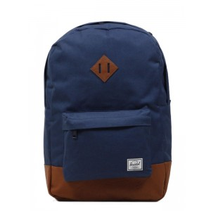 Herschel Sac à dos Heritage navy/tan [ Promotion Black Friday Soldes ]
