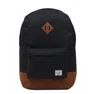 Herschel Sac à dos Heritage black/tan [ Promotion Black Friday Soldes ]