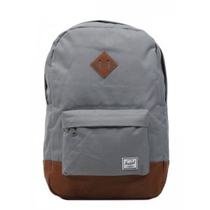 Herschel Sac à dos Heritage grey/tan [ Promotion Black Friday Soldes ]