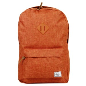 Herschel Sac à dos Heritage burnt orange crosshatch [ Promotion Black Friday Soldes ]