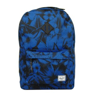 Herschel Sac à dos Heritage jungle floral blue [ Promotion Black Friday Soldes ]