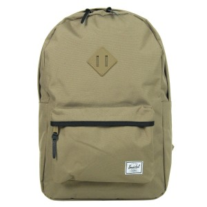 Herschel Sac à dos Heritage lead green/black/lead green rubber/black | Pas Cher Jusqu'à 20% - 80%