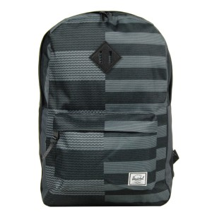 Herschel Sac à dos Heritage routes/black [ Promotion Black Friday Soldes ]