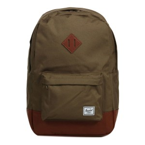Herschel Sac à dos Heritage cub/tan synthetic leather [ Promotion Black Friday Soldes ]