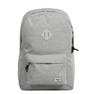 Herschel Sac à dos Heritage light grey crosshatch [ Promotion Black Friday Soldes ]