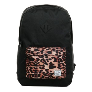 Herschel Sac à dos Heritage black/desert cheetah [ Promotion Black Friday Soldes ]
