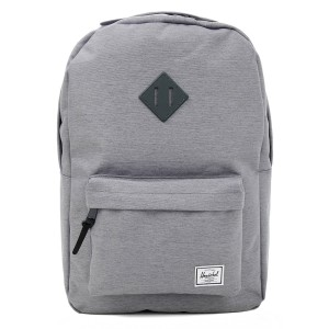 Herschel Sac à dos Heritage mid grey crosshatch [ Promotion Black Friday Soldes ]
