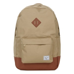 Herschel Sac à dos Heritage kelp/saddle brown [ Promotion Black Friday Soldes ]