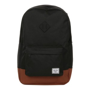 Herschel Sac à dos Heritage black/saddle brown [ Promotion Black Friday Soldes ]