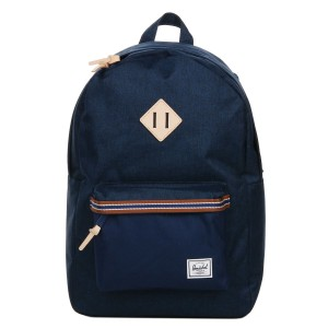 Herschel Sac à dos Heritage Offset medieval blue crosshatch/medieval blue [ Promotion Black Friday Soldes ]