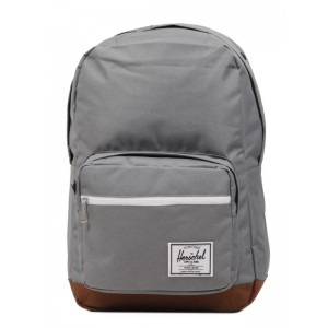 Herschel Sac à dos Pop Quiz grey/tan [ Promotion Black Friday Soldes ]