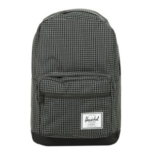 Herschel Sac à dos Pop Quiz black grid/black [ Promotion Black Friday Soldes ]
