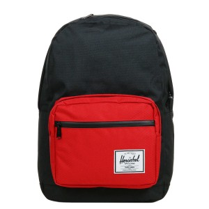 Herschel Sac à dos Pop Quiz black/scarlet [ Promotion Black Friday Soldes ]