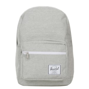 Herschel Sac à dos Pop Quiz light grey crosshatch [ Promotion Black Friday Soldes ]