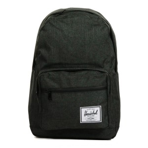 Herschel Sac à dos Pop Quiz black crosshatch/black rubber | Pas Cher Jusqu'à 20% - 80%