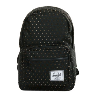 Herschel Sac à dos Pop Quiz black gridlock gold [ Promotion Black Friday Soldes ]