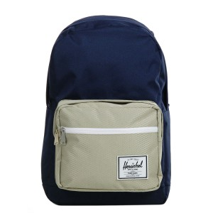Herschel Sac à dos Pop Quiz peacoat/eucalyptus [ Promotion Black Friday Soldes ]