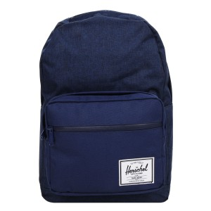 Herschel Sac à dos Pop Quiz medievel blue crosshatch/medievel blue [ Promotion Black Friday Soldes ]