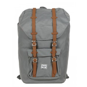 Herschel Sac à dos Little America grey/tan [ Promotion Black Friday Soldes ]