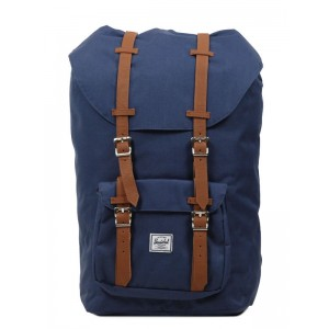 Herschel Sac à dos Little America navy/tan [ Promotion Black Friday Soldes ]