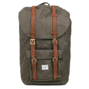 Herschel Sac à dos Little America canteen crosshatch/tan [ Promotion Black Friday Soldes ]