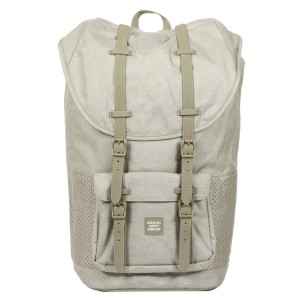 Herschel Sac à dos Little America Aspect dark khaki crosshatch/seneca rock rubber [ Promotion Black Friday Soldes ]
