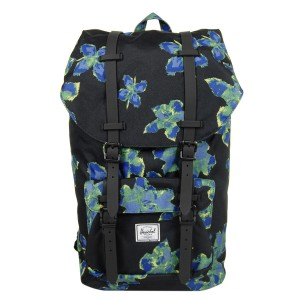 Herschel Sac à dos Little America neon floral/black rubber [ Promotion Black Friday Soldes ]