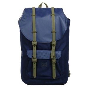 Herschel Sac à dos Little America Aspect peacoat/kalamata rubber [ Promotion Black Friday Soldes ]