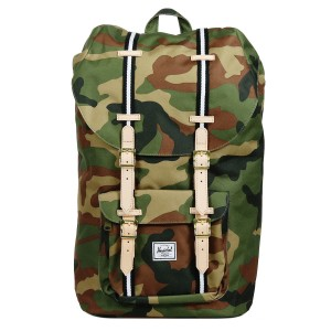 Herschel Sac à dos Little America Offset woodland camo/black/white [ Promotion Black Friday Soldes ]