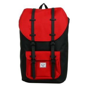 Herschel Sac à dos Little America black/scarlet [ Promotion Black Friday Soldes ]