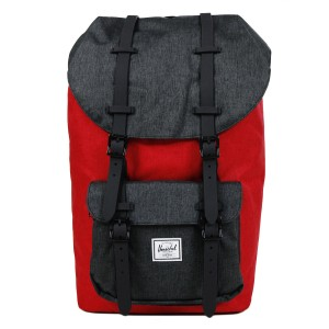 Herschel Sac à dos Little America barbados cherry crosshatch/black crosshatch [ Promotion Black Friday Soldes ]