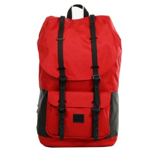 Herschel Sac à dos Little America Aspect barbados cherry crosshatch/black [ Promotion Black Friday Soldes ]