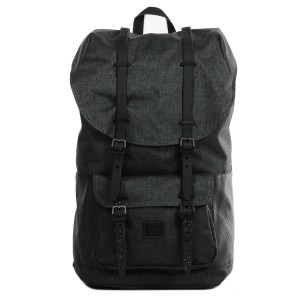 Herschel Sac à dos Little America Aspect black crosshatch/black/white [ Promotion Black Friday Soldes ]