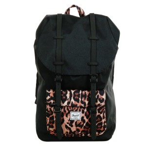 Herschel Sac à dos Little America black/desert cheetah [ Promotion Black Friday Soldes ]