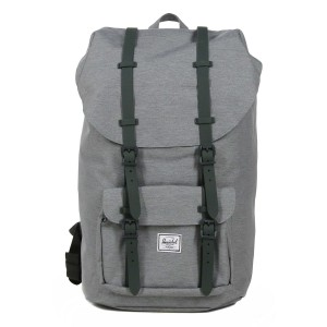 Herschel Sac à dos Little America mid grey crosshatch [ Promotion Black Friday Soldes ]