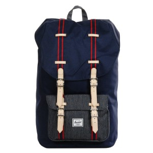 Herschel Sac à dos Little America Offset peacoat/dark denim [ Promotion Black Friday Soldes ]