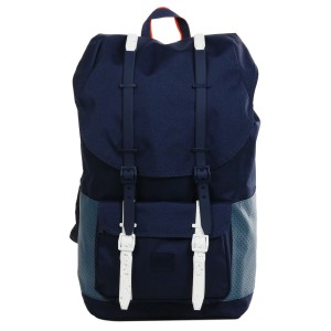 Herschel Sac à dos Little America Aspect peacoat/navy/vermillion orange [ Promotion Black Friday Soldes ]