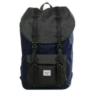 Herschel Sac à dos Little America peacoat/black crosshatch [ Promotion Black Friday Soldes ]
