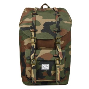 Herschel Sac à dos Little America woodland camo [ Promotion Black Friday Soldes ]
